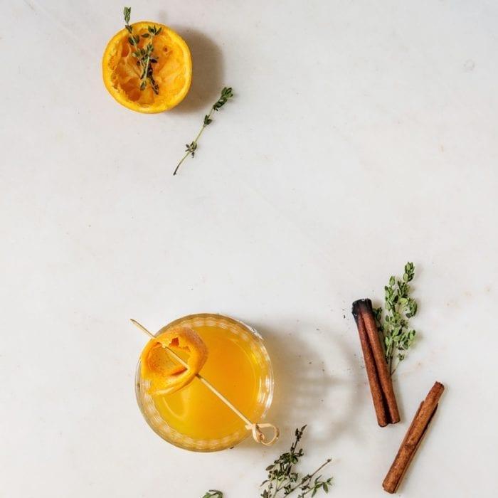 Zimt / Orangen Gin Tonic